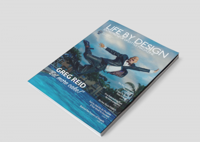 Life By Design Magazine Cover