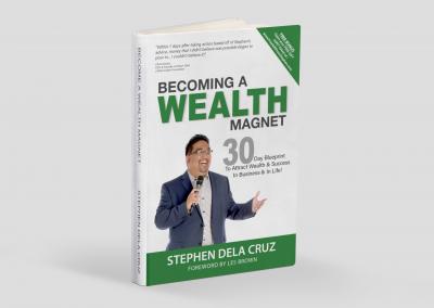 Stephen Dela Cruz Wealth Magnet Book Cover